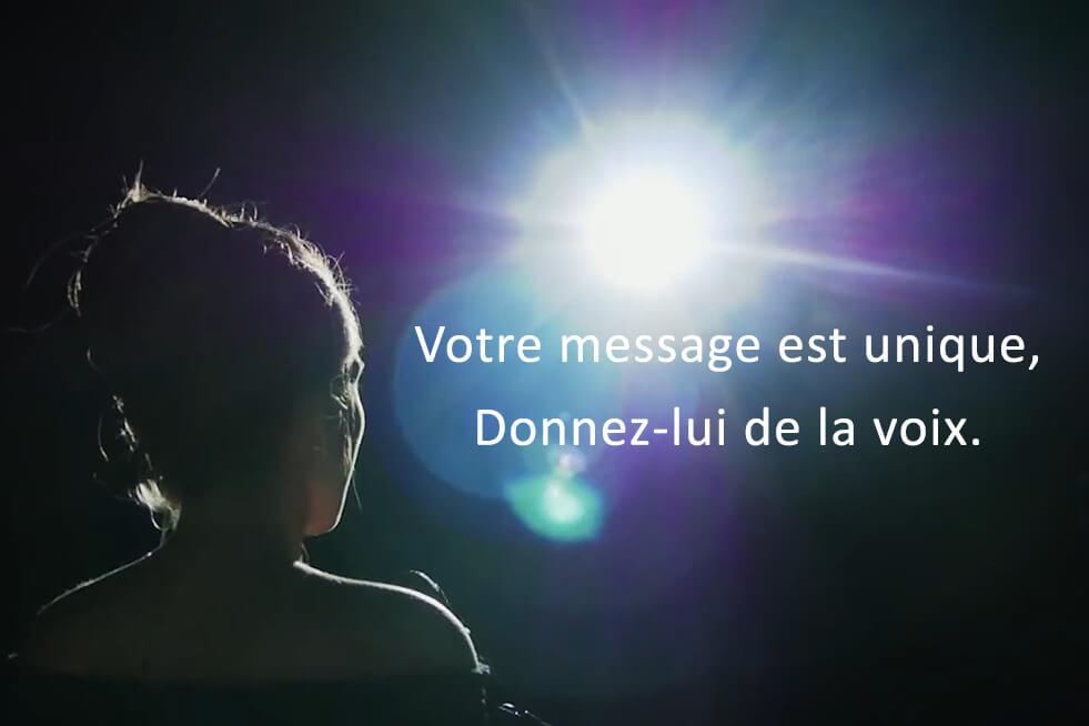 Votre message est unique, donnez-lui de la voix - Expressions, Organisme de Formation Professionnelle spécialisé sur la voix et la communication non verbale